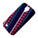 Purple And Pink Retro Geometric Pattern Samsung Galaxy S4 Classic Hardshell Case (PC+Silicone) View4