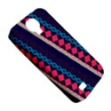 Purple And Pink Retro Geometric Pattern Samsung Galaxy S4 Classic Hardshell Case (PC+Silicone) View5