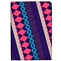 Purple And Pink Retro Geometric Pattern iPad Air 2 Flip View1