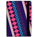 Purple And Pink Retro Geometric Pattern iPad Air 2 Flip View2