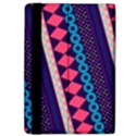 Purple And Pink Retro Geometric Pattern iPad Air 2 Flip View4