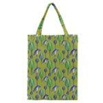 Tropical Floral Pattern Classic Tote Bag