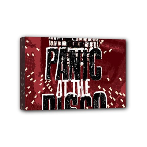 Panic At The Disco Poster Mini Canvas 6  X 4  by Onesevenart