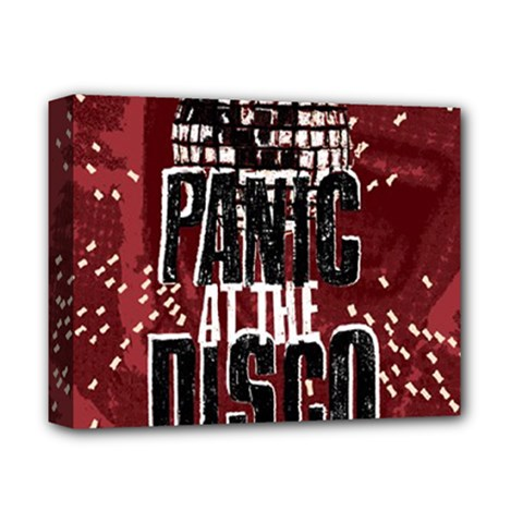 Panic At The Disco Poster Deluxe Canvas 14  X 11  by Onesevenart