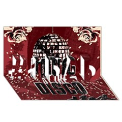 Panic At The Disco Poster #1 Dad 3d Greeting Card (8x4) by Onesevenart