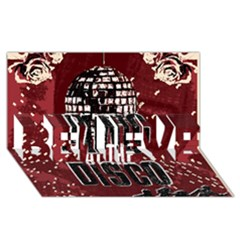 Panic At The Disco Poster Believe 3d Greeting Card (8x4) by Onesevenart