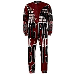 Panic At The Disco Poster Onepiece Jumpsuit (men)  by Onesevenart