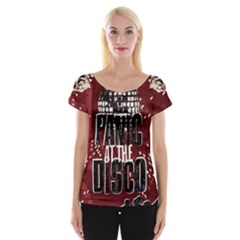 Panic At The Disco Poster Women s Cap Sleeve Top by Onesevenart