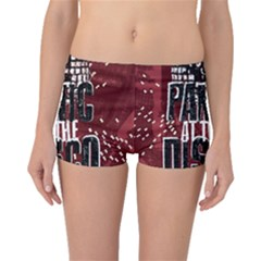 Panic At The Disco Poster Boyleg Bikini Bottoms by Onesevenart
