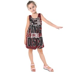 Panic At The Disco Poster Kids  Sleeveless Dress by Onesevenart