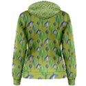 Tropical Floral Pattern Women s Pullover Hoodie View2