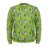 Tropical Floral Pattern Men s Sweatshirt