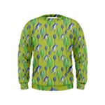 Tropical Floral Pattern Kids  Sweatshirt