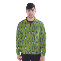 Tropical Floral Pattern Wind Breaker (Men)