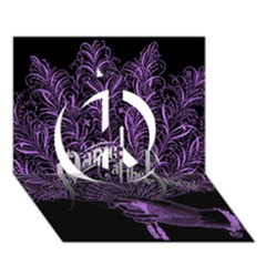 Panic At The Disco Peace Sign 3d Greeting Card (7x5) by Onesevenart