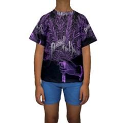 Panic At The Disco Kids  Short Sleeve Swimwear by Onesevenart