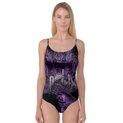 Panic At The Disco Camisole Leotard  by Onesevenart