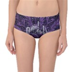 Panic At The Disco Mid-Waist Bikini Bottoms