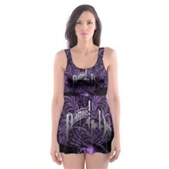 Panic At The Disco Skater Dress Swimsuit by Onesevenart