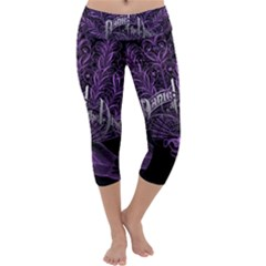 Panic At The Disco Capri Yoga Leggings by Onesevenart