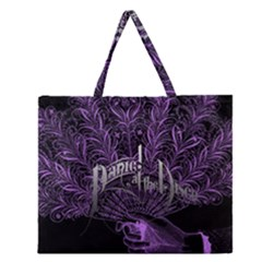 Panic At The Disco Zipper Large Tote Bag by Onesevenart