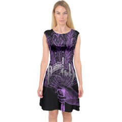 Panic At The Disco Capsleeve Midi Dress by Onesevenart