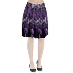 Panic At The Disco Pleated Skirt by Onesevenart