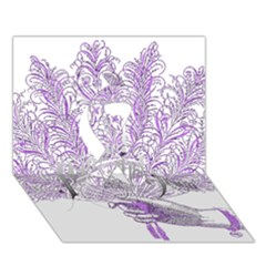 Panic At The Disco Ribbon 3d Greeting Card (7x5) by Onesevenart