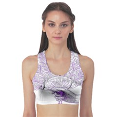 Panic At The Disco Sports Bra by Onesevenart
