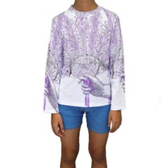 Panic At The Disco Kids  Long Sleeve Swimwear by Onesevenart
