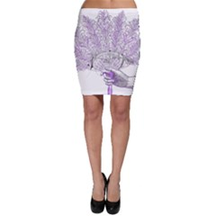 Panic At The Disco Bodycon Skirt by Onesevenart