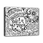 Panic! At The Disco Lyric Quotes Canvas 10  x 8