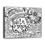 Panic! At The Disco Lyric Quotes Canvas 14  x 11