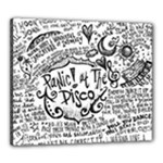 Panic! At The Disco Lyric Quotes Canvas 24  x 20