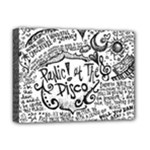Panic! At The Disco Lyric Quotes Deluxe Canvas 16  x 12