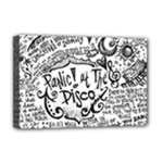Panic! At The Disco Lyric Quotes Deluxe Canvas 18  x 12