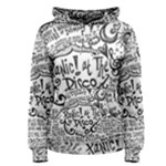 Panic! At The Disco Lyric Quotes Women s Pullover Hoodie