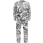 Panic! At The Disco Lyric Quotes OnePiece Jumpsuit (Men)