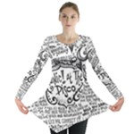 Panic! At The Disco Lyric Quotes Long Sleeve Tunic