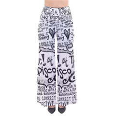 Panic! At The Disco Lyric Quotes Pants by Onesevenart