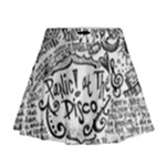 Panic! At The Disco Lyric Quotes Mini Flare Skirt