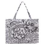 Panic! At The Disco Lyric Quotes Medium Zipper Tote Bag