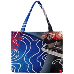 Panic! At The Disco Released Death Of A Bachelor Mini Tote Bag by Onesevenart