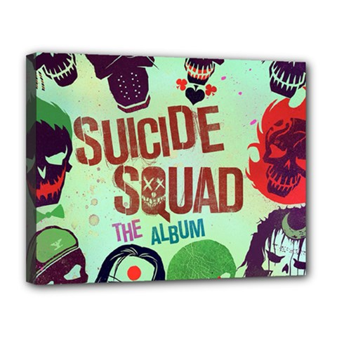 Panic! At The Disco Suicide Squad The Album Canvas 14  X 11  by Onesevenart