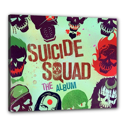Panic! At The Disco Suicide Squad The Album Canvas 24  X 20  by Onesevenart
