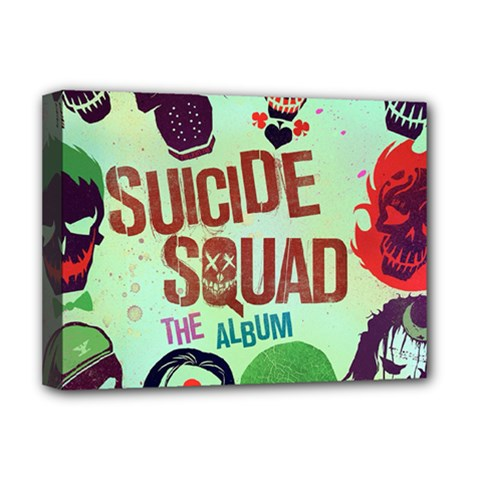 Panic! At The Disco Suicide Squad The Album Deluxe Canvas 16  X 12   by Onesevenart