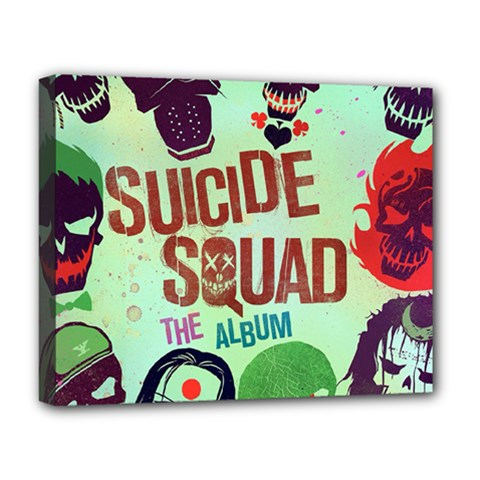 Panic! At The Disco Suicide Squad The Album Deluxe Canvas 20  X 16   by Onesevenart