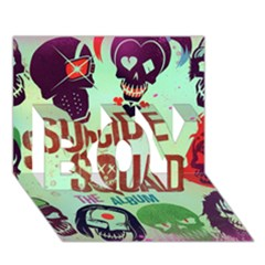 Panic! At The Disco Suicide Squad The Album Boy 3d Greeting Card (7x5) by Onesevenart