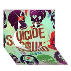 Panic! At The Disco Suicide Squad The Album Heart 3d Greeting Card (7x5) by Onesevenart