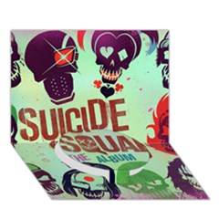 Panic! At The Disco Suicide Squad The Album Circle Bottom 3d Greeting Card (7x5) by Onesevenart